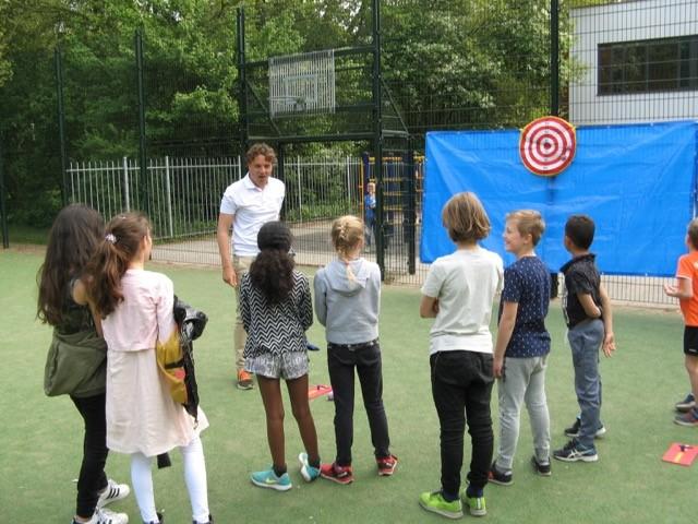 Golf bij naschoolse opvang in Amstelveen