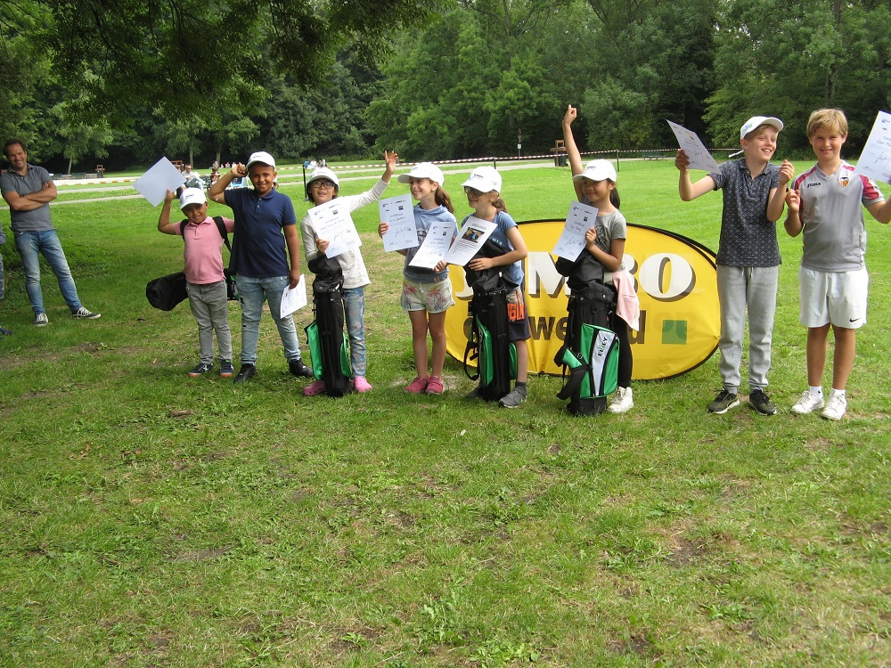 Negende Kids4Golf toernooi groot succes!