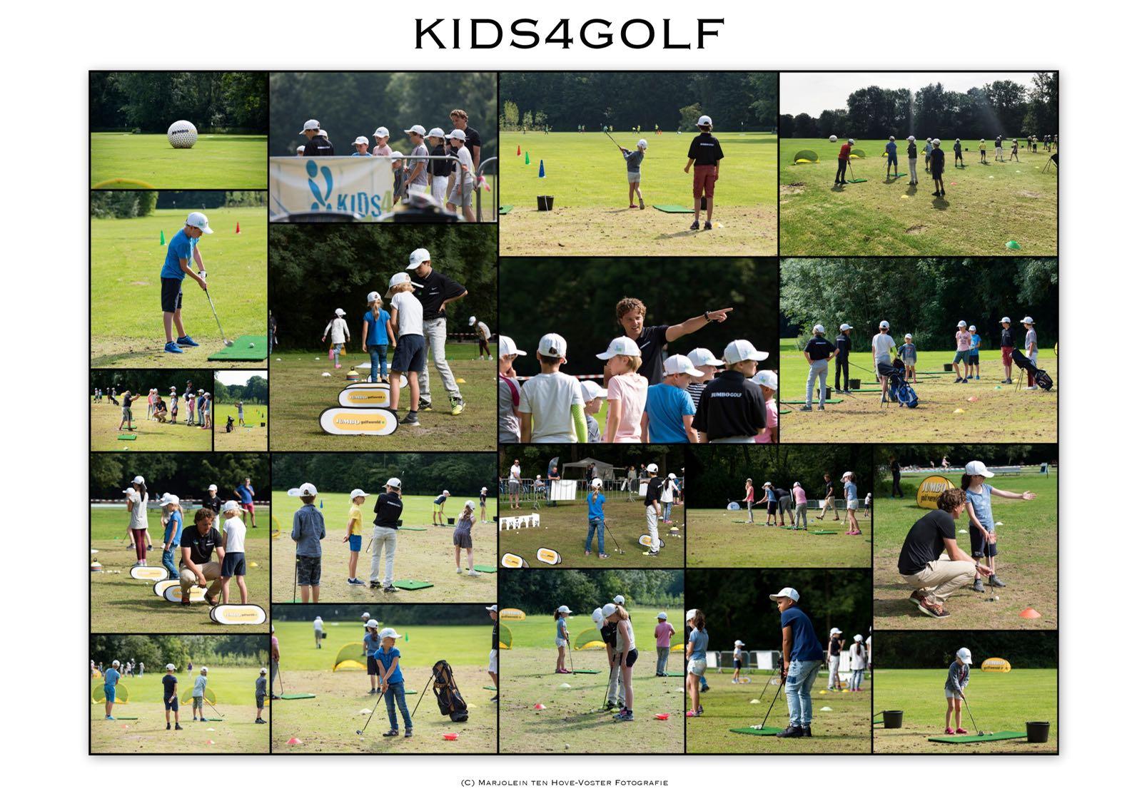 10 jarig jubileum van het Kids4Golf toernooi